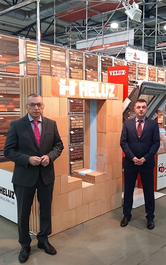 HELUZ exhibited at a trade fair in Kyiv